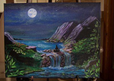 live-artists-for-hire-Chi-Ka-Go-Gabrielle-E-Mejia-Moonlit