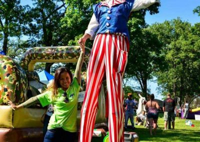 stilt-walkers-for-hire-Uncle-Sam-Kevin-1
